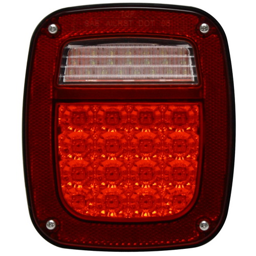 Pilot Automotive NV-002R Passenger Side LED Tail Lamp for Jeep Wrangler