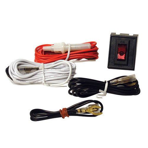 pilot wiring harness kit w/ rocker switch
