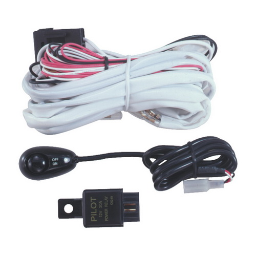 pilot automotive performance switch pl harn3 pilot wiring harness kit w micro bug switch relay for mini series